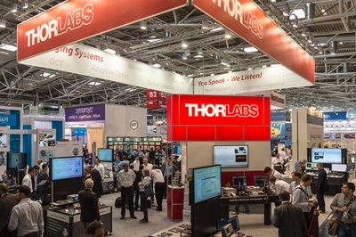 Thorlabs booth at Laser World of Photonics