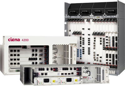 Ciena's 4200 range optimizes WDM transport with integrated switching and services management.