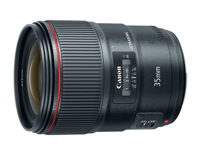 L-Series lens: first to feature Canon's Blue Spectrum Refractive Optics.