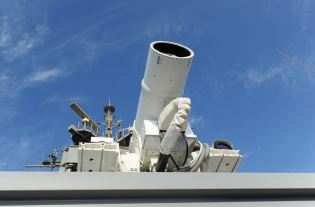US Navy's Laser Weapons System