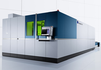 Steel cutter: the TruLaser 5040fiber laser materials processing system.