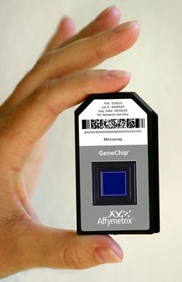 GeneChip microarray