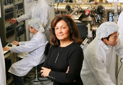 Northwestern University's Professor Manijeh Razeghi.