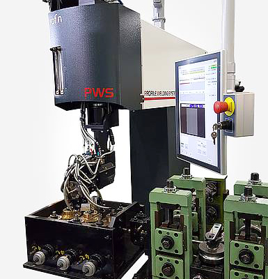 Rofin's PWS: a laser welder with integrated process sensor for gap detection and tracking.