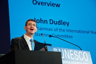 Prime mover: IYL steering committee chair John Dudley