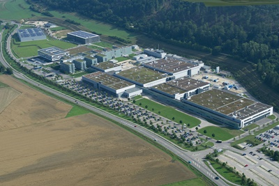 Zeiss' expansion near Oberkochen