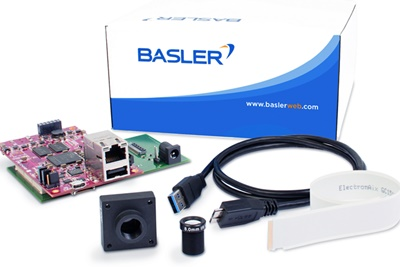 Embedded vision: Basler's new development kit