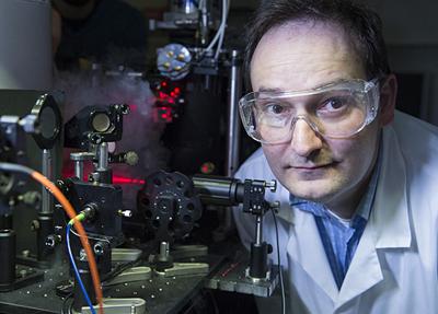 Quantum leap: Tyndall's Dr Emanuele Pelucchi.