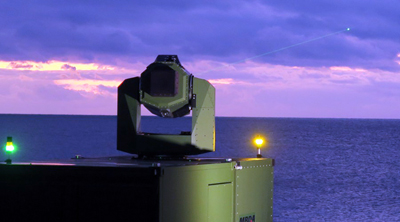 MBDA is working on various laser weapons systems for naval, land and airforce deployment.