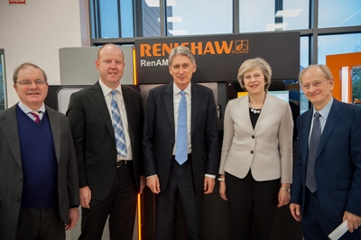 Prime movers: Renishaw is involved in three EPSRC-backed hubs