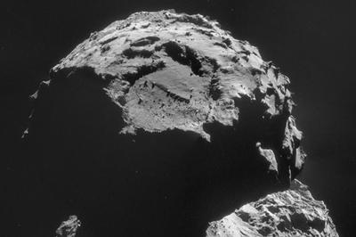 Comet close-up