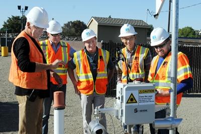 Under test: Acutect's laser-based methane detector