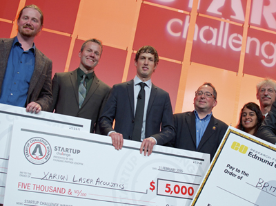 Balthasar's gift: Xarion was runner-up at SPIE's Startup Challenge in 2015.