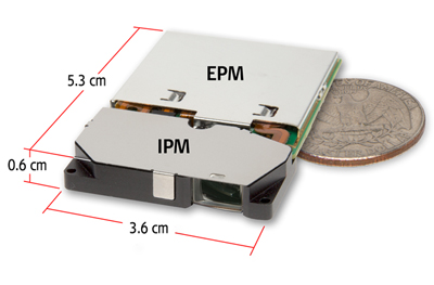 Pico-projector is suited to applications in smart phones, portable media players and tablets.