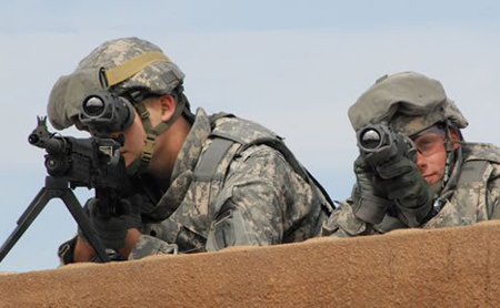 On target: US Army investing initial $10.5m in BAE's thermal weapon sights.