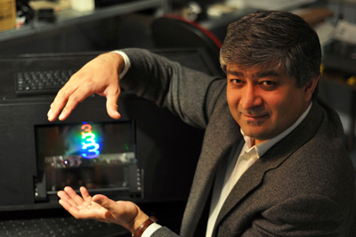 Third-generation development: Javid Khan, Holoxica's md.