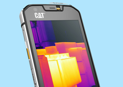 "Cat S60 phone: said to be ""the world's first thermal imaging Smartphone"