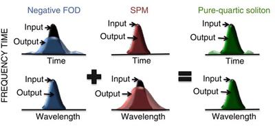 Schematics of pure-quartic solitons.