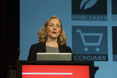 Rebecca Taylor, Senior VP at the US National Center for Manufacturing Sciences.