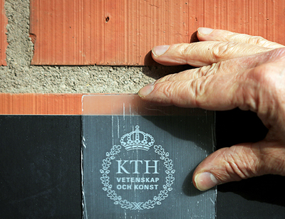 Transparent wood created at KTH.