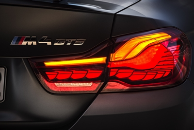 Production debut: BMW's OLED tail light