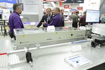 Newport at SPIE Photonics West earlier this year