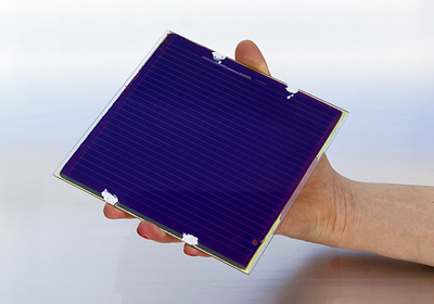 10% and rising; Solliance's latest perovskite-based PV panel.