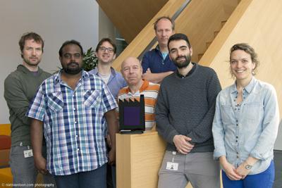 European collaboration: the Solliance team.