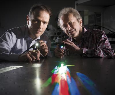 Bright idea: Mini-array projector by Dannberg, Schreiber and Sieler.