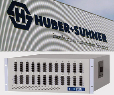 HUBER+SUHNER has added Polatis to its portfolio of optical communications interests.