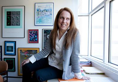 Pamela Silver, Professor of Biochemistry at Harvard Medical School..