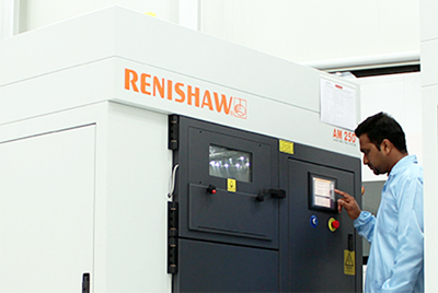 One of a suite of additive machines in Renishaw's AM Solutions Centre in India.