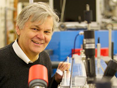 Professor Dino Jaroszynski, of Strathclyde's Department of Physics.