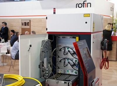Rofin's fiber lasers