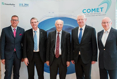 Comet launchers! The partners from LZH and Fraunhofer IOF.