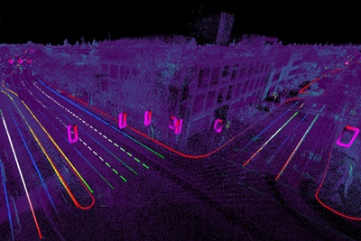 Meaningful maps from lidar data