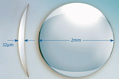 The Raindrop Near Vision Inlay is a hydrogel inlay designed to correct presbyopia.