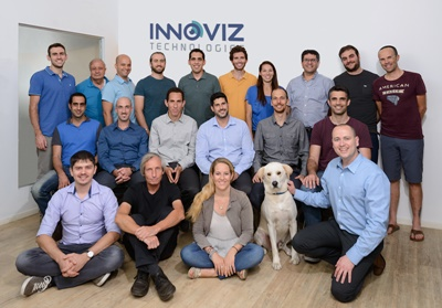 Innoviz team (including Winston the labrador)