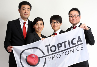 Kon'nichiwa! Toptica's new team looks forward to supporting Japan's laser sector.