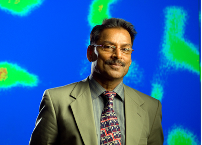 SPIE Gold medal winner: Prof. Paras Prasad of the University at Buffalo.