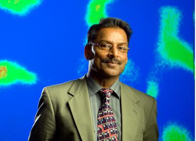 SPIE Gold medal winner: Prof. Paras Prasad of the University at Buffalo.