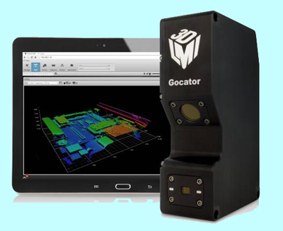 LMI will present its CMOS-based Gocator  line profiler and smart 3D sensor range.