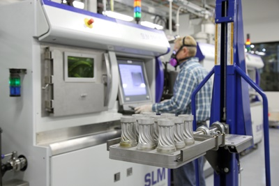 SLM equipment in action