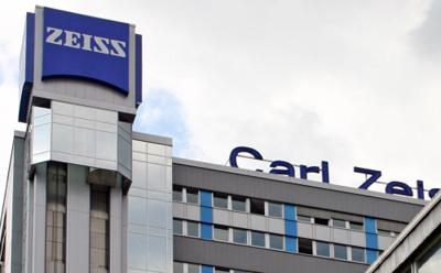Global HQ of Carl Zeiss company in Jena, Germany.