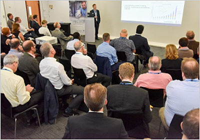 150 photonics professionals attended the Future Photonics Hub meeting.
