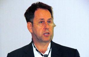 Inspirational talk: Dr Andrew Rickman.