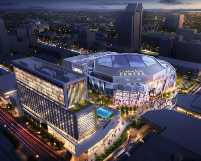 The Sac Kings' Golden1Center: the first installation of Wideband Multimode Fiber.