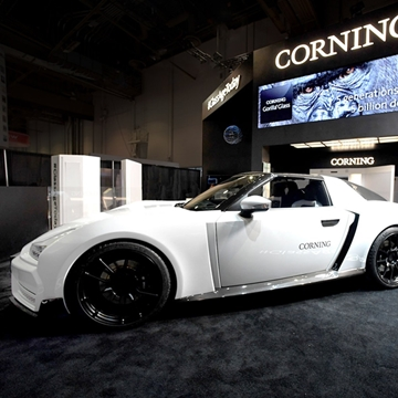 Corning concept: Gorilla Glass in cars