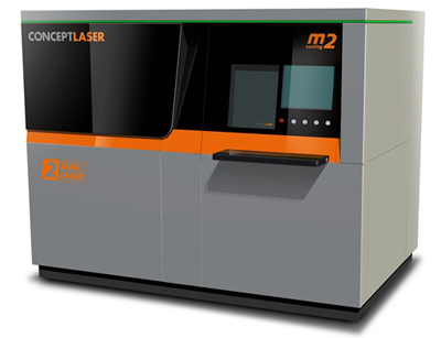 Concept's multi-laser additive system.