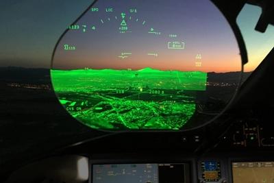 Zero-visibility landings